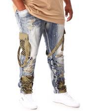 Jeans - Cargo Pocket Denim Jeans (B&T)-2639720