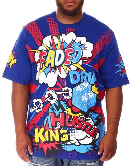 Buyers Picks - Faded Wow Comic Pop Art T-Shirt (B&T)