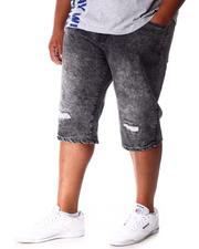 Shorts - Distressed Fashion Denim Shorts (B&T)-2640915