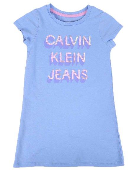 Calvin Klein - Logo T-Shirt Dress (4-6X)