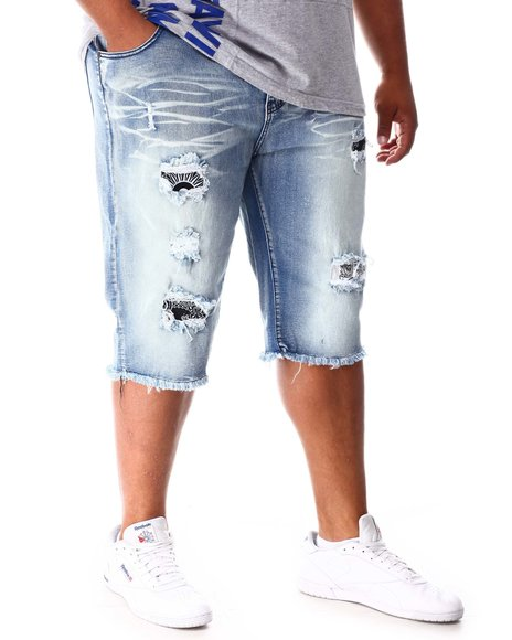 Buyers Picks - Rip & Repair Distressed Denim Shorts (B&T)