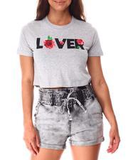Tops - Lover Crop Tee-2639354