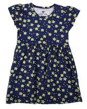 La Galleria - Floral Print Cap Sleeve Dress (2T-4T)-2638877