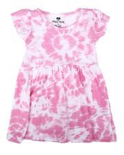 La Galleria - Tie Dye Cap Sleeve Dress (Infant)-2638915
