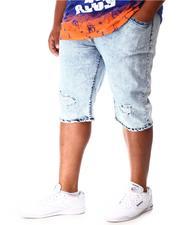 Shorts - Distressed Fashion Denim Shorts (B&T)-2640941