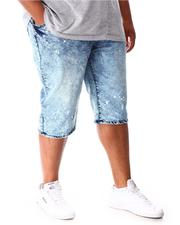 Shorts - Moto Distressed Denim Shorts (B&T)-2640985