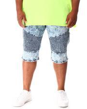Shorts - Moto Denim Shorts (B&T)-2640824