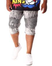 Shorts - Moto Denim Shorts (B&T)-2640848