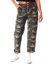 Bottoms - Camo Cargo Pants-2641659