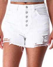 Bottoms - Exposed Button And Rips-2641043
