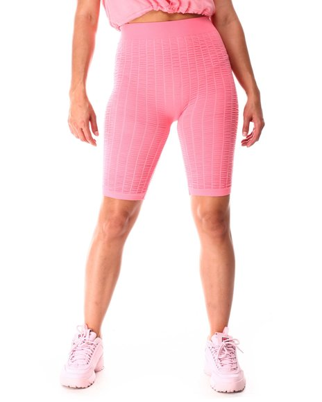 Fashion Lab - Smocked Bike Shorts