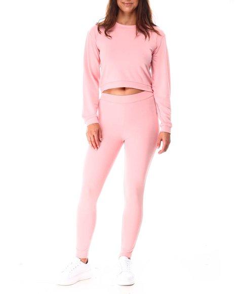 Fashion Lab - Crop Pullover W/Legging