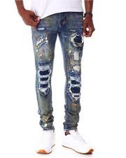 Jeans - Patchwork Skinny Jean-2642612
