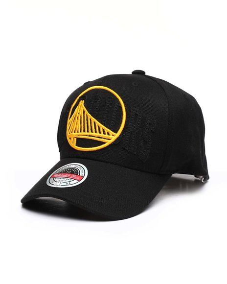 Mitchell & Ness - Golden State Warriors Double Triple Stretch Snapback HWC