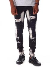 Jeans - Distressed Moto Jean-2642275