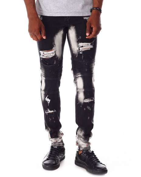 Buyers Picks - Distressed Moto Jean
