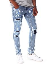 Jeans - Rip and Repair Paint Splatter Jean-2642720