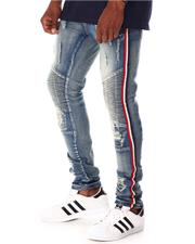 Jeans - Moto Stretch Jean with Tape Detail-2642736