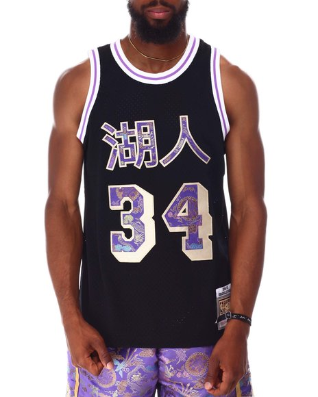 Mitchell & Ness - LOS ANGELES LAKERS Lunar New Year Swingman Jersey - Shaquille O'Neal