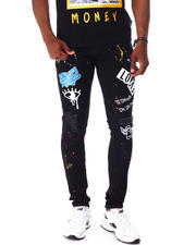 Jeans - Love Graffiti Stretch Jean-2642694