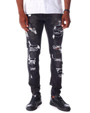 Jeans - Black 5 year Ripped Jean-2643294