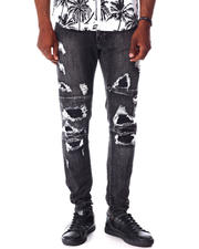 Jeans - Grey Rip and Repair Jean-2643305