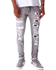 Jeans - Storm Grey distressed Jean-2643320