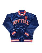 Mitchell & Ness - New York Knicks Lightweight Satin Jacket (8-20)-2640628