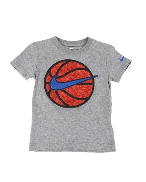 Nike - Faux Basketball Swoosh Tee (4-7)
