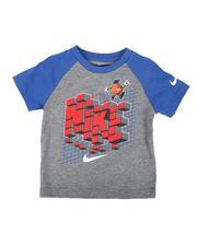 Sizes 2T-4T - Toddler - 8 Bit Basketball Raglan Tee (2T-4T)-2640691