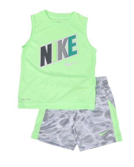 Nike - 2 Pc Muscle Tank & Shorts Set (4-7)
