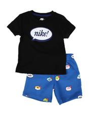 Sizes 2T-4T - Toddler - Airmoji Tee & Shorts Set (2T-4T)-2640728