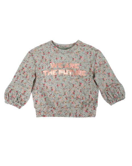 BCBGirls - Printed French Terry Top (2T-4T)