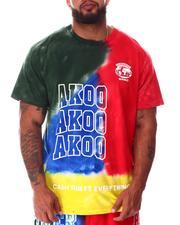 AKOO - Midnight Tie Dye Knit T-Shirt (B&T)-2643735