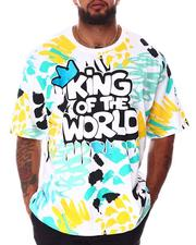 SWITCH - King Of The World Paint T-Shirt (B&T)-2643706