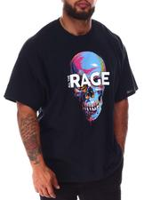 Short-Sleeve - Rage Skull T-Shirt (B&T)-2643622
