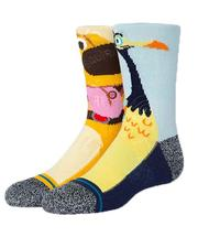 Accessories - Paradise Falls Glow In Dark Socks (Youth)-2644747