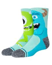 Accessories - Monstropolis Glow In Dark Socks (Youth)-2644750