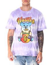 T-Shirts - Tie Dye Hustler Bear Tee-2641294