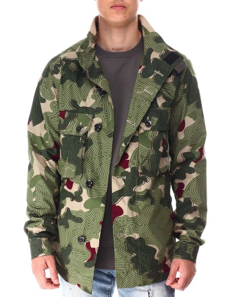 G-STAR - G-Star RAW Army artwork indoor jacket