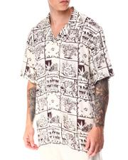 HUF - DAY IN THE LIFE S/S WOVEN TOP-2641279