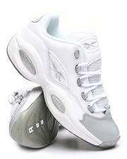 Reebok - Grey Toe Question Low Sneakers-2644734
