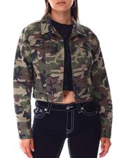 ShrunkeN Trkr Jacket Camo