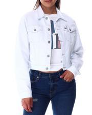 ShrunkeN Trkr Jacket Optic White