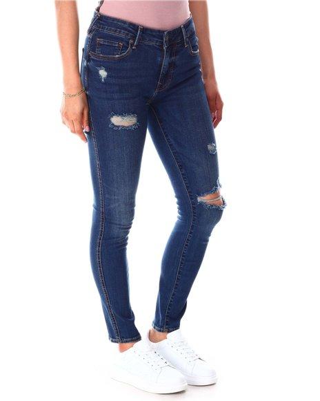 True Religion - Jennie Destroyed Jeans