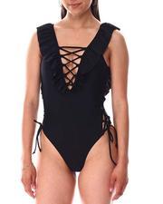 Swimwear - Lattice One Piece-2644989