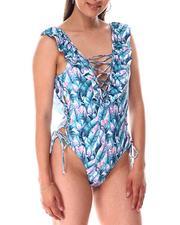 Swimwear - Lattice One Piece-2644994