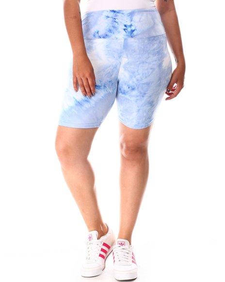 Fashion Lab - High Waist Bike Shorts (Plus)