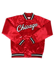Mitchell & Ness - Chicago Bulls Lightweight Satin Jacket (8-20)-2640633