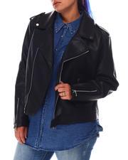 Fashion Lab - Moto Jacket (Plus)-2645032